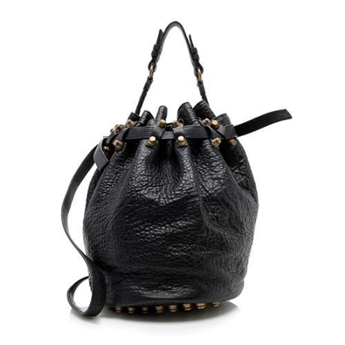Alexander Wang Lambskin Diego Bucket Bag