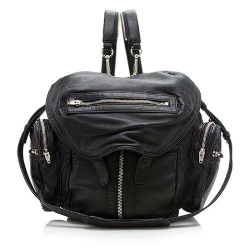 Alexander Wang Lambskin Marti Mini Backpack