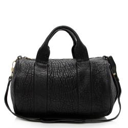 Alexander Wang Pebbled Lambskin Rocco Satchel