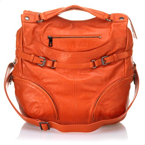 Andrew Marc Motorcycle Audrina Tote