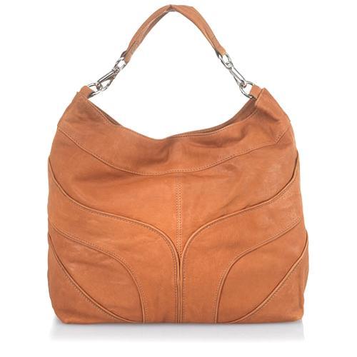 Andrew Marc Organic Riley Large Hobo Handbag