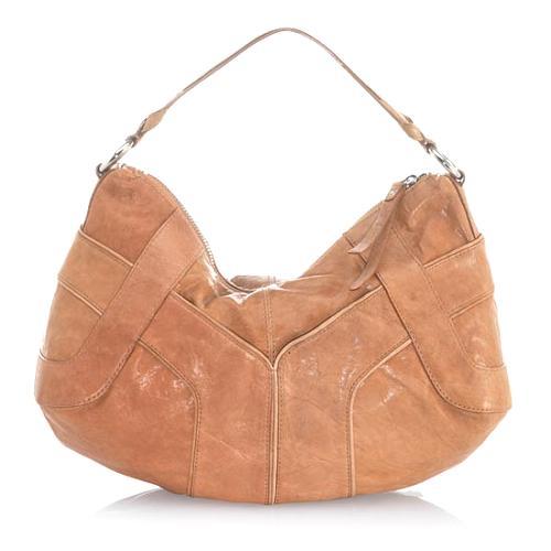 Andrew Marc Origami Serena Small Hobo Handbag