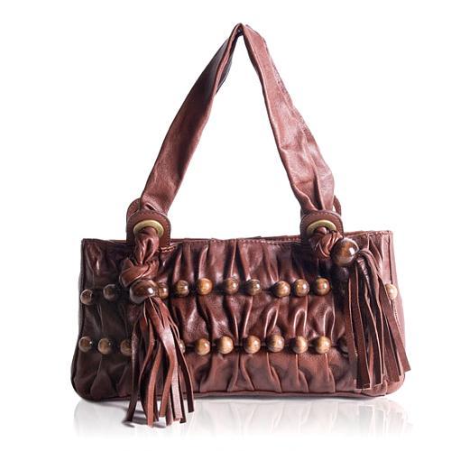 BCBGMAXAZRIA Tassel Hobo Handbag