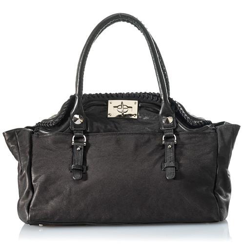 BE & D Herlihy Satchel Handbag