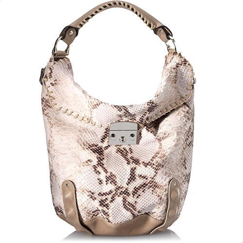 BE & D Jefferson Hobo Bucket Handbag