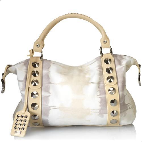 BE & D New Garbo Satchel Handbag