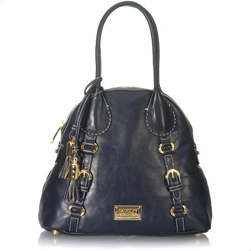 Badgley Mischka Kara Domed Satchel Handbag