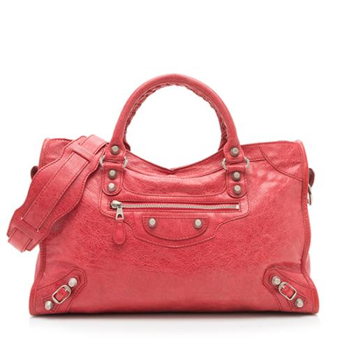 Balenciaga Agneau Giant 12 City Satchel