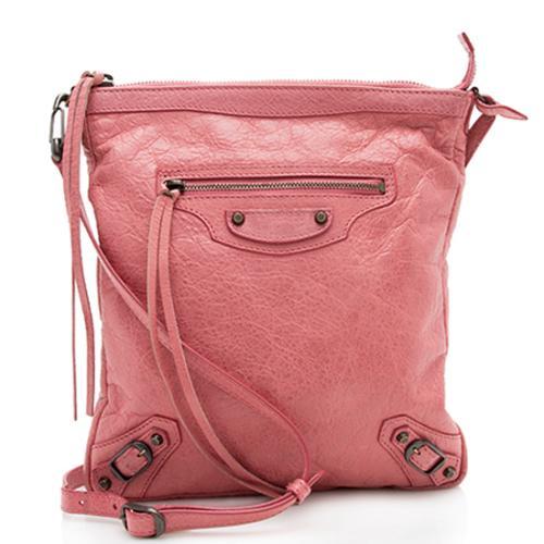 Balenciaga Arena Classic Flat Crossbody Bag