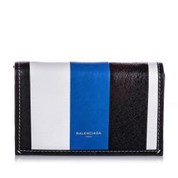 Balenciaga Leather Bazar Chain Crossbody Bag