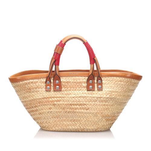 Balenciaga Bistrot Panier Tote Bag