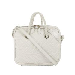 Balenciaga Leather Blanket Square Satchel