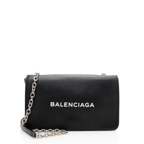 Balenciaga Calfskin Everyday Wallet On Chain Bag - FINAL SALE