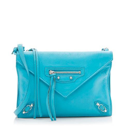Balenciaga Calfskin Papier Triple AJ Mini Crossbody Bag