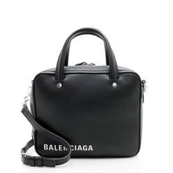 Balenciaga Calfskin Triangle Square XS Bag