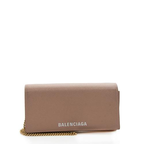 Balenciaga Calfskin Ville Continental Wallet