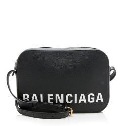 Balenciaga Calfskin Ville S Camera Bag