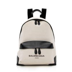 Balenciaga Canvas Logo Backpack