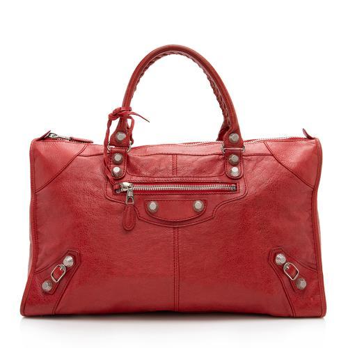 Balenciaga Chevre Leather Giant 21 Work Satchel