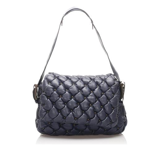 Balenciaga Leather Chevre Shoulder Bag