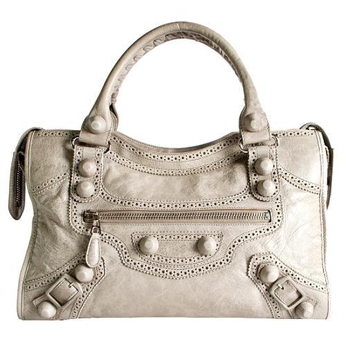 Balenciaga Covered Giant City Handbag