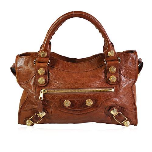 Balenciaga Giant City Satchel Handbag
