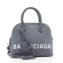 Balenciaga Grained Calfskin Ville Top Handle Bag
