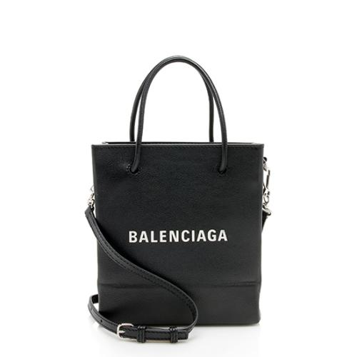 Balenciaga Grained Calfskin XXS Shopping Tote