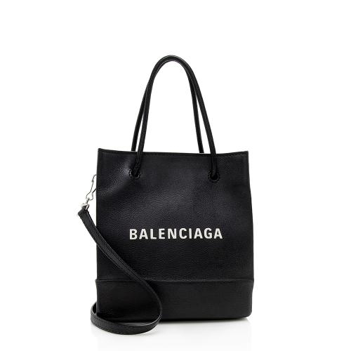 Balenciaga Grained Calfskin XXS Shopping Tote