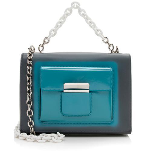 Balenciaga Leather BAL58 Chain Shoulder Bag