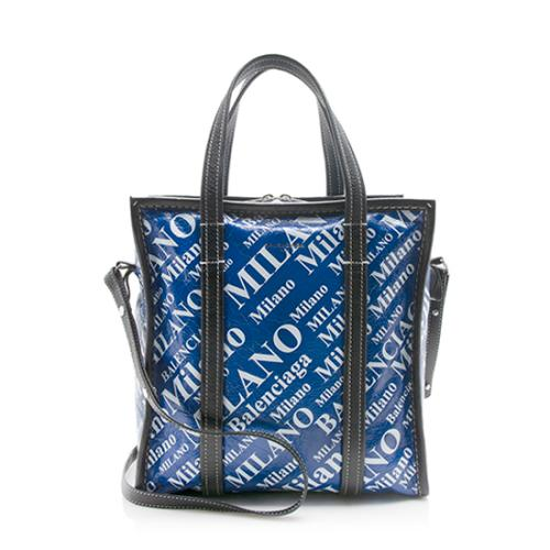 Balenciaga Leather Bazar Paris Shopping S Tote