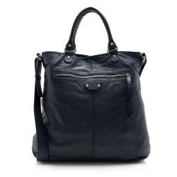 Balenciaga Leather Classic Square Tote