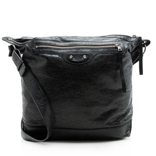 Balenciaga Leather Day Messenger Bag