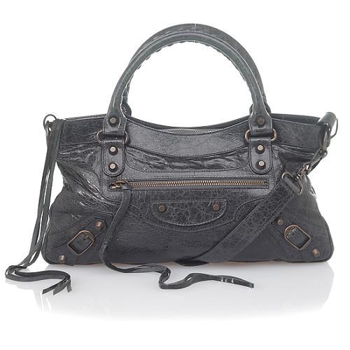 Balenciaga Leather First Satchel