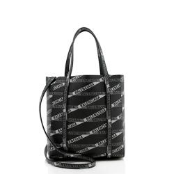 Balenciaga Leather Logo Everyday XXS Ville Tote