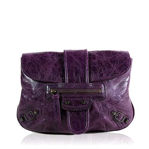 Balenciaga Leather Pouchette Wallet