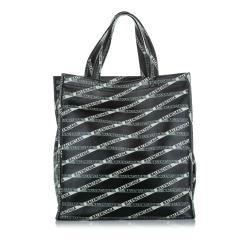 Balenciaga Logomania Leather Tote Bag
