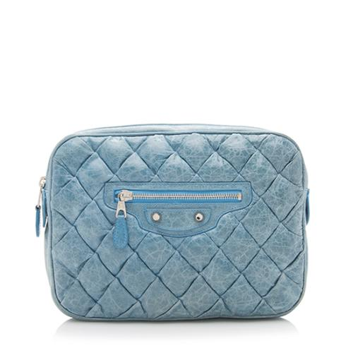 Balenciaga Matelasse Makeup Clutch - FINAL SALE