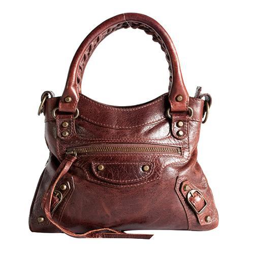 Balenciaga Mini Classique Satchel Handbag