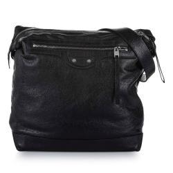 Balenciaga Motocross Classic Day Leather Shoulder Bag