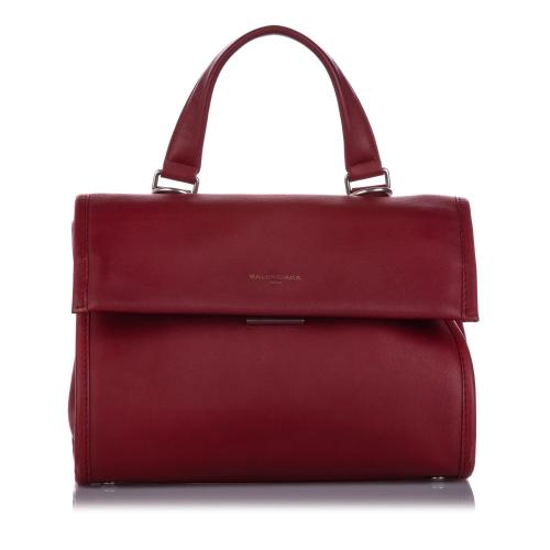 Balenciaga Tools Leather Satchel
