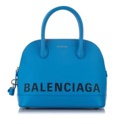 Balenciaga Leather Ville Satchel