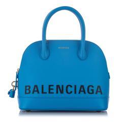 Balenciaga Leather Ville Satchel