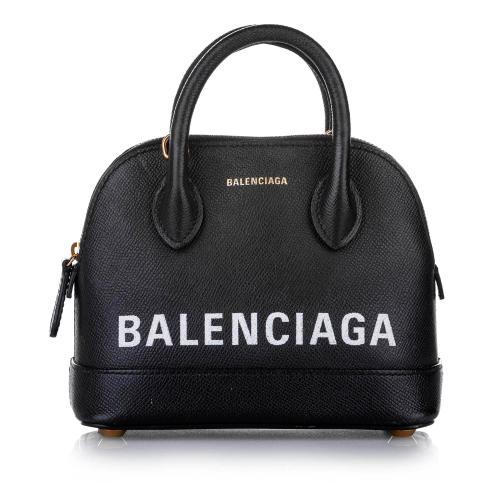 Balenciaga Ville XXS Leather Satchel
