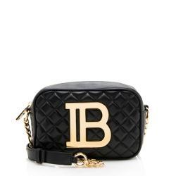 Balmain Lambskin B Camera Bag