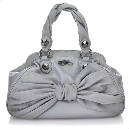 Betsey Johnson Bowdacious Frame Satchel Handbag