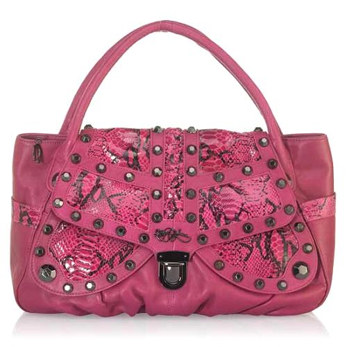 Betsey Johnson Butterfly Bling Tote