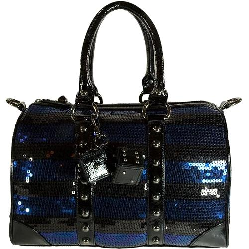 Betsey Johnson Fire & Ice Satchel Handbag