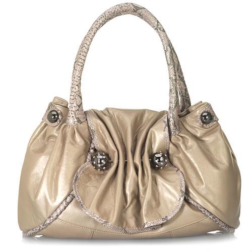 Betsey Johnson Ice Princess Large Satchel Handbag