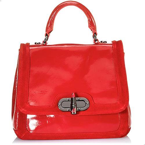 Betsey Johnson Lipstick Fever Satchel Handbag - FINAL SALE